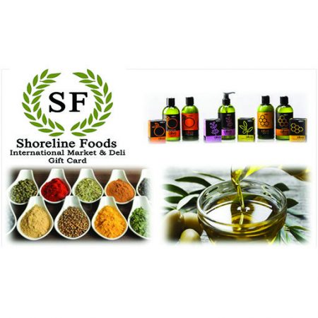 Shoreline Foods Gift Card