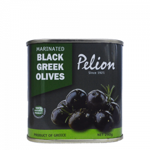 marinated black olives